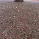 Bonded Rubber Mulch Surface in West Midlands 2