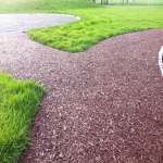 Rubberised Playground Bark Installer in Airntully 2