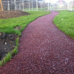 CFH for Rubber Mulch for Playground in Altamuskin 8