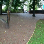 Rubberised Playground Bark Installer in Cardiff 8