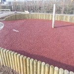 Rubberised Playground Bark Installer in Cardiff 9