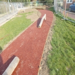 Rubberised Playground Bark Installer in Anstey 10