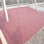Rubberised Playground Bark Installer in Ashburnham Forge 7