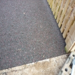Bonded Rubber Mulch Surface in Aberdulais 8