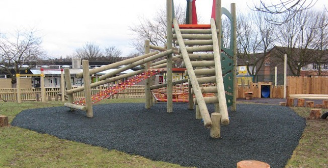 Neighbourhood Playground Surfaces in Abbey Field
